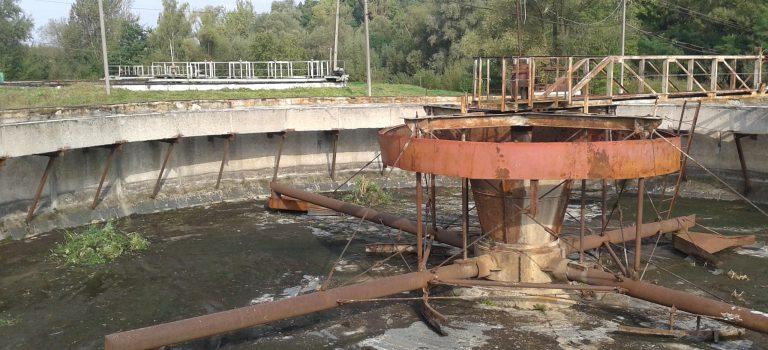 У Дрогобичі розпочато реконструкцію вторинних відстійників очисних споруд