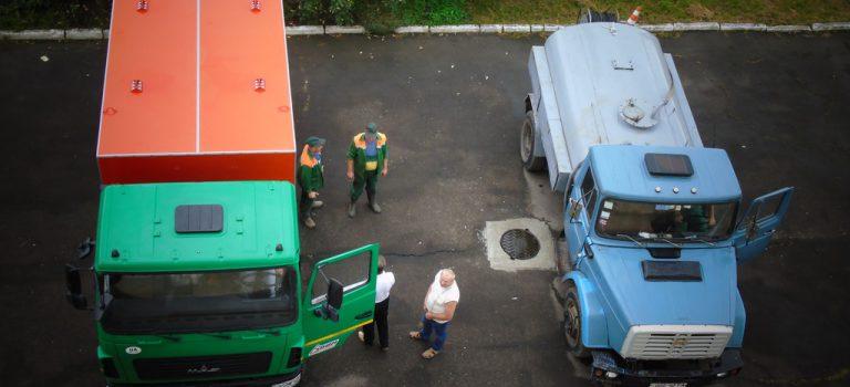 Автопарк Дрогобицького водоканалу поповнився новою канало-промивною машиною